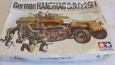 Tamiya 1/35 German HANOMAG Sdkfz251/1 Model Tank Kit
