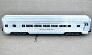 LIONEL POSTWAR O GAUGE 2533 SILVER CLOUD PULLMAN CAR