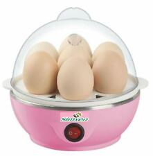 7 Egg Poacher for Steaming/ Boiling, Electric Automatic Off, Multicolor - F Ship