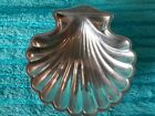 Vintage Cartier Small 4 1/4 in. Footed Pewter Clam Shell Caviar Dish RARE