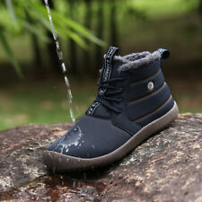 Waterproof Men Women Snow Boots Casual Warm Flush Winter Ankle Boots Sneakers