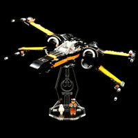 Acryl Display Stand Acrylglas Standfuss für LEGO 75102 Poe´s X-Wing Fighter
