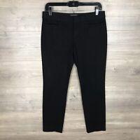 "Banana Republic Women's Size 4 Sloan Slim Ankle Pants Black 27"" Inseam"