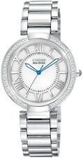 Ladies Citizen EcoDrive EM0100-55A w/diamonds