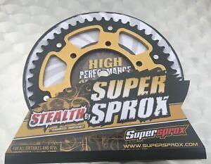 Supersprox Sigilo Piñón Yamaha YZF R1, RN22, Rst 486-47 ,Sprocket, #520