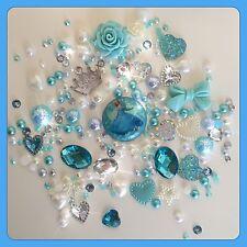 Disney Cinderalla Theme Cabochon Gem & pearls flatbacks for decoden crafts #1