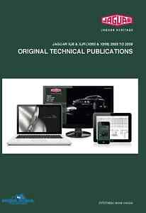 Jaguar XJ8 & XJR (X350 & X358) 2003 to 2009 Original Technical Publications