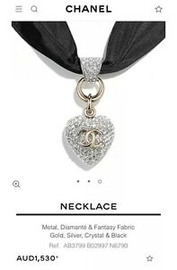 CHANEL Heart Choker RRP $1530