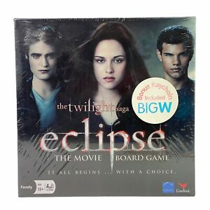 The Twilight Saga Eclipse The Movie Board Game With Keychain New