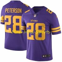ADRIAN PETERSON Minnesota VIKINGS Nike COLOR RUSH Limited Throwback Jersey S-XXL