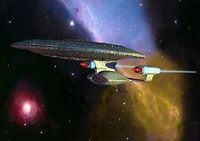 Star Trek  Enterprise Space Ship Giant Poster Art Print - A0 A1 A2 A3 A4 Sizes