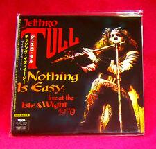 Jethro Tull Nothing Is Easy MINI LP CD JAPAN VACM-1256