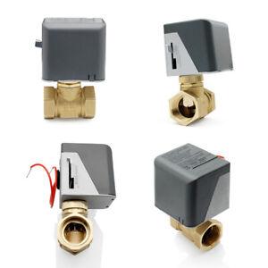 2 Wege Absperrventil Elektrisches Umschaltventil 1 Zoll Motorkugelhahn DN25