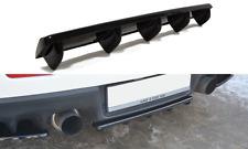 Cup Diffusor ansatz carbon Mitsubishi Lancer Evo X Heck hinten FLap Splitter