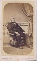 Pinot Gayan Photographes A Versailles Francia CDV Vintage Albumina Ca 1860