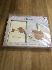 sass & belle Woodland Baby Travel Set My First Passport Cover & Luggage Tag Set