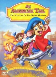 An American Tail 4 - The Mystery Of The Night Monster [DVD] - DVD  REVG The