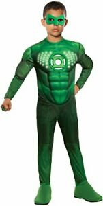 Rubie's Green Lantern Teen Deluxe Hal Jordan Costume With Light Up Muscle Chest