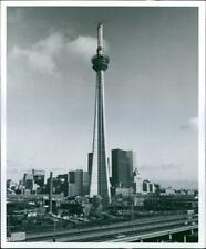 The Canadian National Tower in Toronto is the world - Vintage photograph 3565472