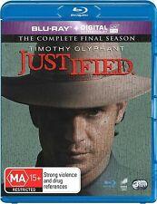 Justified Complete Series 6 Blu Ray All Episode Sixth Season Original UK Rel New