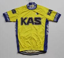 Retro KAS Cycling Jerseys Short Sleeve Cycling Short Sleeve  Jerseys