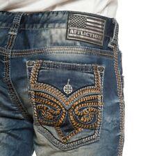 Men's Affliction Blake Fleur Rouge Jeans Size 30W x 33L 110RS291 RGUE