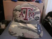 f283fb70d20 NWT! ADIDAS TEXAS A M MENS CAMO FITTED BASEBALL HAT CAP 7 3 8 11F3 ...