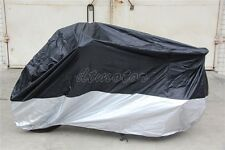 Black Motorcycle Cover Bag For Yamaha Road Star Warrior Midnight XV 1600 1700
