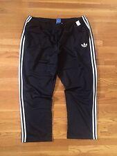 Adidas Originals Firebird Retro Sweatpants Track Pants, Men's Size 3XL - Black