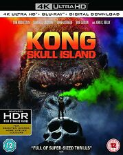 PRE ORDER: KONG : SKULL ISLAND  (4K ULTRA HD) - Blu Ray -  Region free