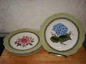 NEW Princess House Vintage Garden lunch/desert plates 1481