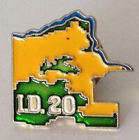 I.D. 20 Pin Badge Rare Vintage (J3)