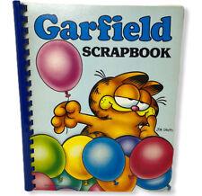 VTG Garfield Scrapbook Folder 1978 Jim Davis Cartoon Cat Collectable Notebook