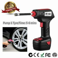 Tyre Inflator Cordless / Electirc Handheld Portable Car Air Compressor Pump MI