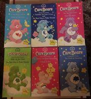 CARE BEARS VHS TAPES! Lot Of 6! Episode List In Description🔥BAM🔥$7 Bucks🔥
