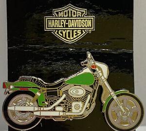 Harley Davidson Street 750 Green Chrome Silver Motorcycle Pin Brooch PinUsa 2006