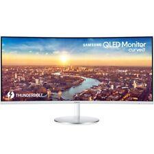 Samsung C34J791W 86,36cm (34 Zoll) Curved Monitor, QLED, 4ms, FreeSync, 100Hz