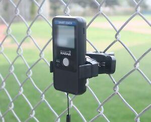 Fence Mount For Pocket Radar Now With Tripod Adapter