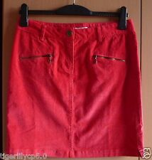 Rode jeans rok  Maat 38-40