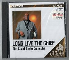 Count Basie Orchestra CD LONG LIVE THE CHIEF Denon Pure Gold Japan - OVP SEALED