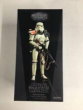 Sideshow Hot Toys Star Wars 1/6 Scale Sandtrooper Squad Leader, Tatooine, NIB