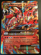 Carte Pokemon M BRASEGALI XY86 HOLO MEGA EX JUMBO NEUF Française