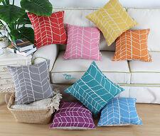 45cm 50cm 30x50cm Fashion Geo Stem Panels Cushion Covers Pillows Shell Home Sofa