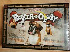 New & Factory Sealed Boxer-Opoly Family Board Game Monopoly dogs Age 8 + Xmas