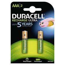2x NiMH-Akku Micro AAA 1,2V 850mAh DURACELL Rechargeable Duralock Accu Blister
