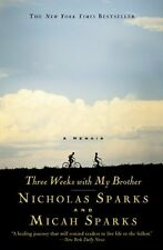 Three Weeks with My Brother by Nicholas Sparks, (Paperback), Grand Central Publi