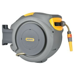 Hozelock 2401 Auto Reel Automatic with 20m Garden Hose