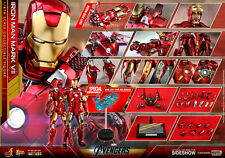 Hot Toys IRON MAN MARK VII DIECAST SPECIAL EDITION EXCLUSIVE MMS500-D27 Avengers