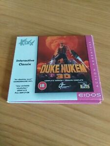 Duke Nukem 3D PC CD-ROM 1996 PC Game with Manual GT Interactive software
