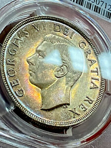 Canada 1 Dollar 1951 Pcgs Ms63